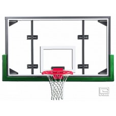 "42"" x 72"" Conversion Glass Backboard with Steel Frame"