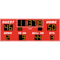 Electro-Mech Wireless Outdoor LED Football/Track Scoreboard