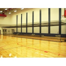 "Multi-Sport Cage 10'H x 12'W x 70'L With 3-4"" Square Mesh Net"