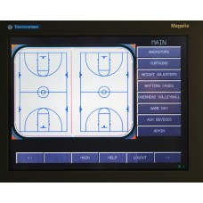 Advanced Electronic Control System & Touch Screen, Programmable, operates multiple devices