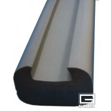 Glue-On Backboard Padding, Grey