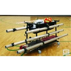 Volleyball Equipment Storage Cart