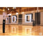 RallyLine™ Scholastic Aluminum Telescopic One-Court Volleyball System
