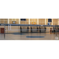 Libero™ Collegiate Aluminum One-Court Volleyball System Less Sleeves and Covers