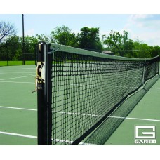 "3"" Round Competition Tennis Posts, Black"