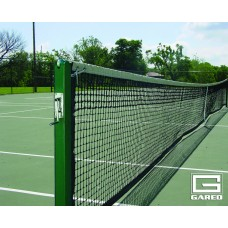 "3"" Square Championship Tennis Posts, Black"