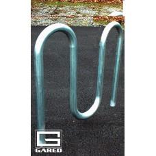 """3' 3"""" Loop-Style Bike Rack, 5 Bikes"""