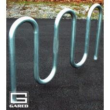 """5' 3"""" Loop-Style Bike Rack, 7 Bikes"""