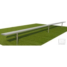 15' Spectator™ Bench without Back, Permanent