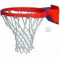 Double Ring Playground Breakaway Goal with Nylon Net