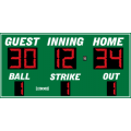 Electro-Mech Wireless Outdoor LED Baseball/Softball Scoreboard