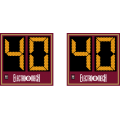 Electro-Mech Wireless Outdoor LED Football Play Clock Set