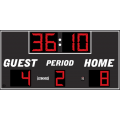 Electro-Mech Wireless Outdoor LED Soccer/Lacrosse Scoreboard