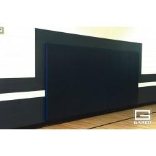 "Wall Pad with Bonded Polyurethane Foam, Standard Size, 2' x 6' x 2"""