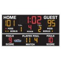 "All American 4'4"" x 8'0"" Basketball-Volleyball Scoreboard with Fouls"
